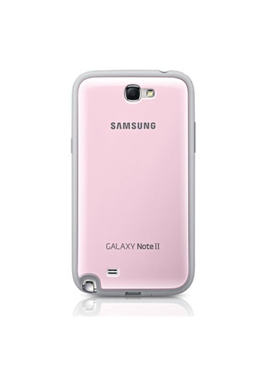 Samsung Samsung N7100 Galaxy Note 2 Protective Cover Kılıf - Pembe Efc-1J9Bpegstd (Outlet) Renkli